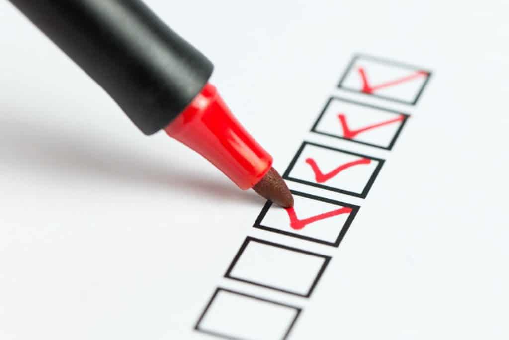 BAFA-Beratung Checkliste
